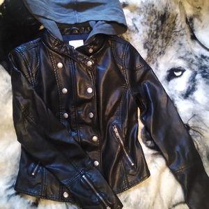 🆕 Free People New Dawn Vegan Leather Jacket
